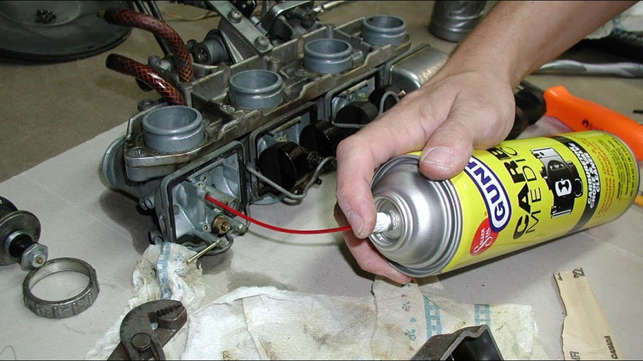 carburetor spray
